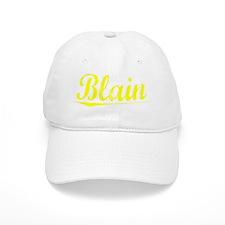 Blain, Yellow Baseball Cap