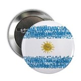 "Textual Argentina 2.25"" Button (100 pack)"
