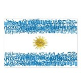 Textual Argentina Postcards (Package of 8)
