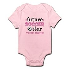Future Soccer Star Girls Body Suit