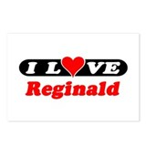 I Love Reginald Postcards (Package of 8)