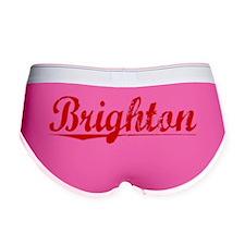 Brighton, Vintage Red Women's Boy Brief