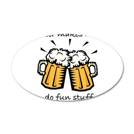 beer fun stuff Wall Decal