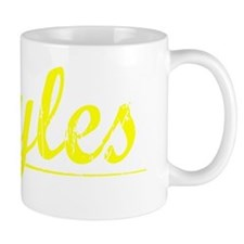Boyles, Yellow Coffee Mug