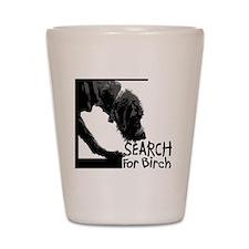Search birch odor scent nose work Shot Glass