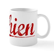 Chien, Vintage Red Mug