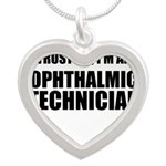 Trust Me, Im An Ophthalmic Technician Necklaces