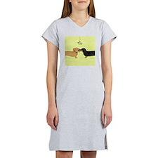doxieornamentCP Women's Nightshirt