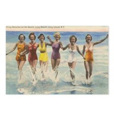 Vintage Long Island Beach Postcards (Package of 8)
