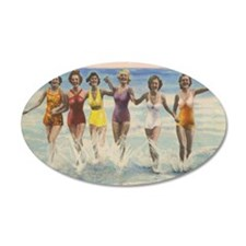 Vintage Long Island Beach Ba Wall Decal