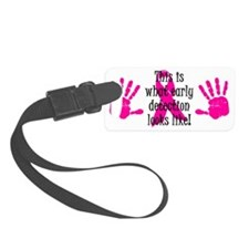 Early Detection Luggage Tag