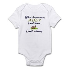 Unique Funny adhd Infant Bodysuit