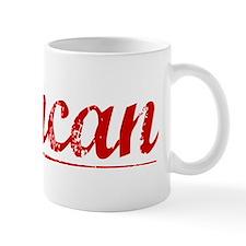 Duncan, Vintage Red Mug