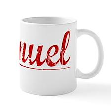 Emanuel, Vintage Red Small Mug