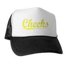 Cheeks, Yellow Trucker Hat