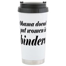 obamabinderrectangle Ceramic Travel Mug