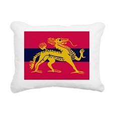 H.Q. Land Forces Hong Ko Rectangular Canvas Pillow