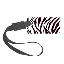 Zebra Stripes Luggage Tag