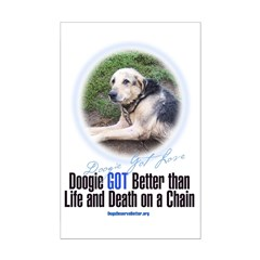 Doogie GOT Better Mini Poster Print