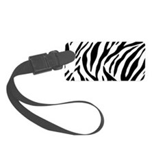 Zebra Stripes Small Luggage Tag