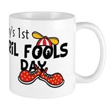 Babys First April Fools Day Mug