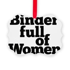 Binder full of Women Ornament