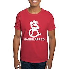 handi-lapped_trns T-Shirt