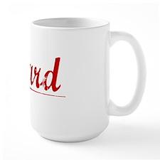 Heard, Vintage Red Mug