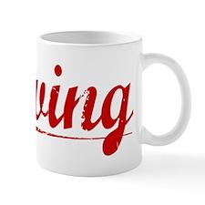 Irving, Vintage Red Mug