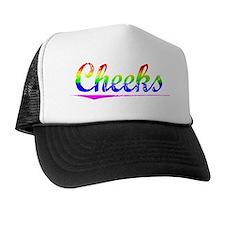 Cheeks, Rainbow, Trucker Hat