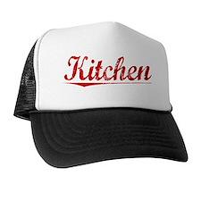 Kitchen, Vintage Red Trucker Hat