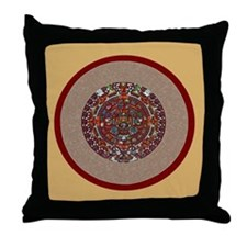 Aztec Calendar- Throw Pillow