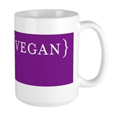 Words to Live By pig, purple Mug