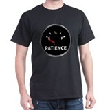 Out of Patience Fuel Gauge T-Shirt