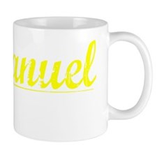 Emmanuel, Yellow Small Mug