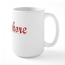 Longshore, Vintage Red Mug