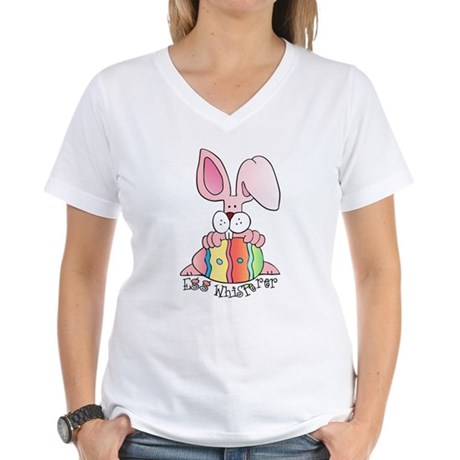 Egg Whisperer Women's V-Neck T-Shirt