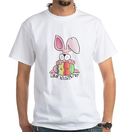 Egg Whisperer White T-Shirt