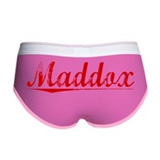 Maddox, Vintage Red Women's Boy Brief