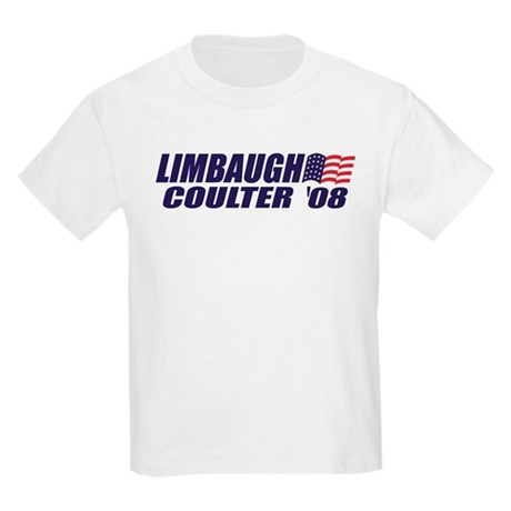 Limbaugh / Coulter President 2008 Kids T-Shirt