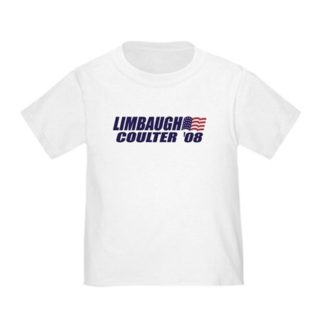Limbaugh / Coulter President 2008 Toddler T