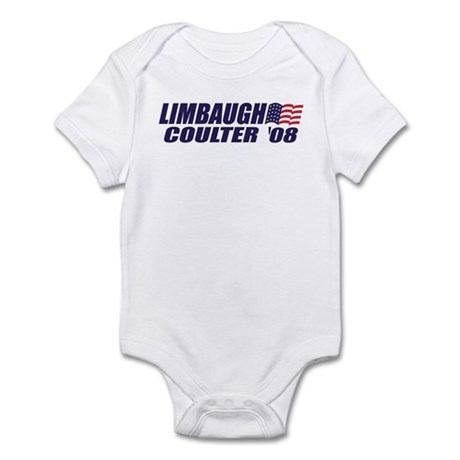 Limbaugh / Coulter President 2008 Infant Bodysuit