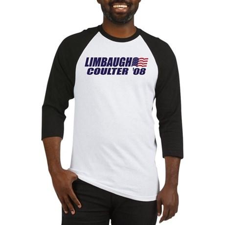 Limbaugh / Coulter President 2008 Baseball Jersey