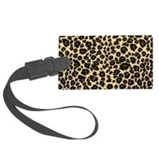 Leopard print Luggage Tag