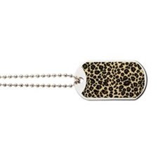 Leopard print Dog Tags