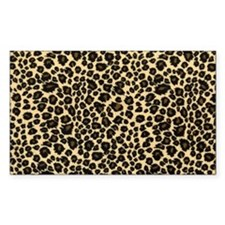 Leopard Print Decal