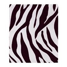 Zebra Stripes Throw Blanket