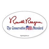 Ronald Reagan Signature Oval Decal