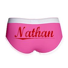 Nathan, Vintage Red Women's Boy Brief