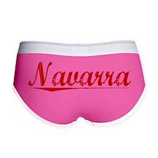 Navarra, Vintage Red Women's Boy Brief
